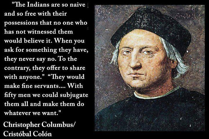 columbus day should not be celebrated essay Columbus day is not celebrated in the way it should be celebrated the day should not be celebrated at all to respect the native people and not giving columbus false credit brett on october 11th, 2012 6:41 pm.